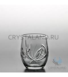 """Набор хрустальных стаканов """"Лотос"""", 6 шт, 200 гр."""