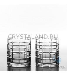 Хрустальные стаканы для виски 2 шт, 280 гр.