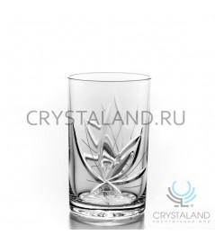 Набор хрустальных стаканов, 6 шт, 250 гр