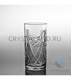 Набор хрустальных стаканов для коктейля, 6 шт, 330 гр.