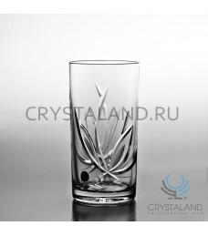 """Набор хрустальных стаканов для коктейля """"Лотос"""" 6 шт, 330 гр."""