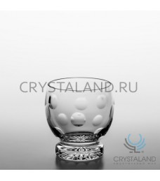 "Набор хрустальных стаканов ""Линзы"", 6 шт, 200 гр."