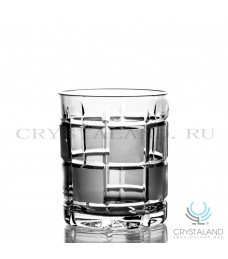 Набор хрустальных стаканов для виски и коньяка 6 шт, 330 гр.