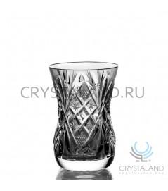 Набор стаканов из бесцветного хрусталя, 6 шт, 125 гр.