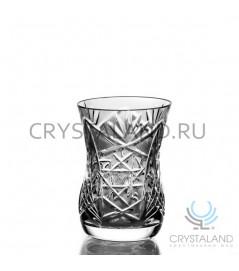 Набор стаканов из бесцветного хрусталя, 6 шт, 100 гр.