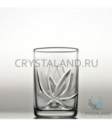 "Набор хрустальных стаканов для вина ""Лотос"",6 шт, 100 гр."