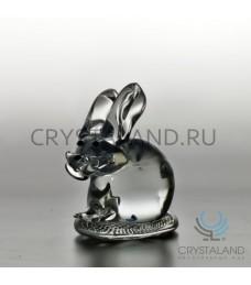 """Хрустальный сувенир """"Кролик"""" 8 см"""