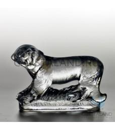 Хрустальный сувенир в виде тигра 8 см