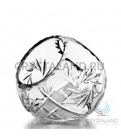 Корзинка хрустальная для конфет, 14 см