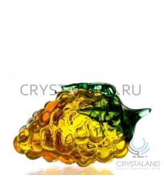 """Сувенир из цветного стекла """"Виноград"""" 18 см"""