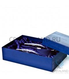 Подарочная коробка для 2-х бокалов 30 см