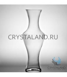 Стеклянная ваза для цветов 50см.