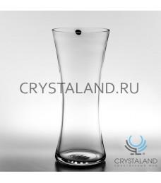 Стеклянная ваза для цветов 36см.