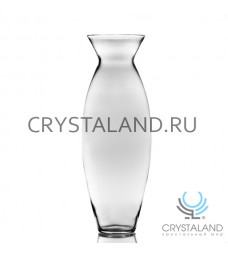 Стеклянная ваза для цветов в виде бамбука 51см.